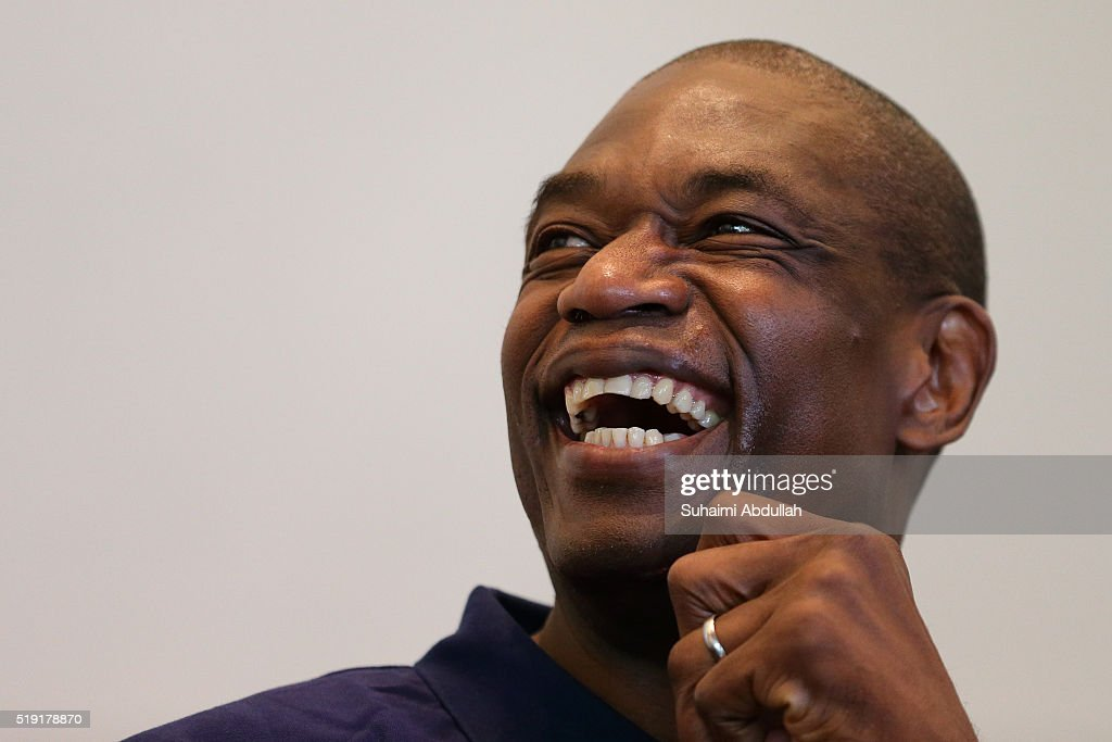 Dikembe Mutombo Media Session