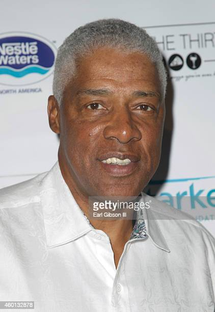 Former NBA Basketball Player Julius Erving attends The Starkey Hearing Foundation Inaugural Celebrity Golf Classic PrePlay VIP Reception at Shadow...