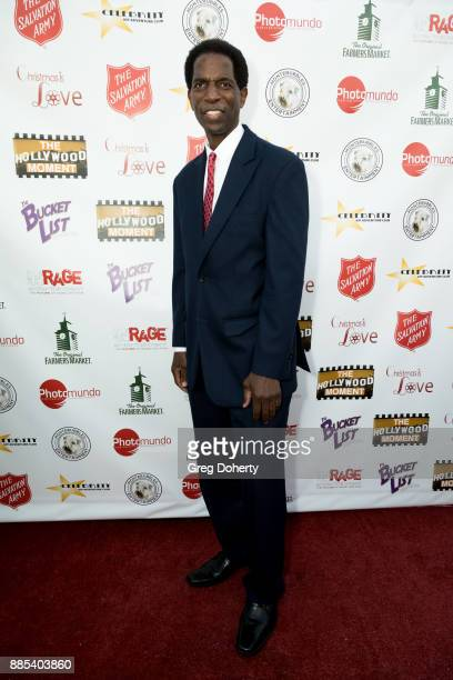 Former NBA Player A C Green attends The Salvation Army Celebrity Kettle Kickoff Red Kettle Hollywood at the Original Farmers Market on November 30...