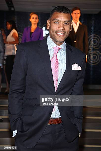 Former NBA player Allan Houston attends Apsley Tailors Stylish Men in Sports celebration at 10 Columbus Circle on September 19 2011 in New York City