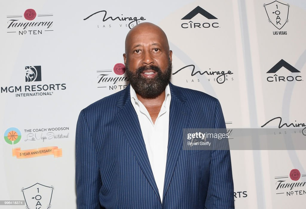 Former NBA player and coach Mike Woodson attends the 5th Anniversary gala for the Coach Woodson Invitational presented by MGM Resorts International and produced by PGD Global at 1 OAK Nightclub at The Mirage Hotel & Casino on July 7, 2018 in Las Vegas, Nevada.