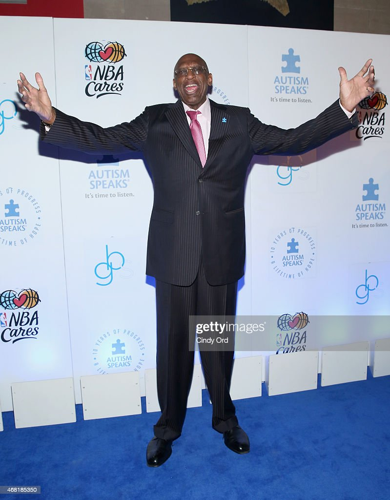 Former NBA Player Bob Lanier attends the Autism Speaks Tip-off For A Cure 2015 on March 30, 2015 in New York City.