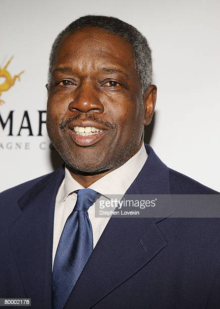 """Former NBA player Bobby Dandridge attends the premiere of """"Black Magic"""" at The Apollo Theatre on February 25, 2008 in New York City."""