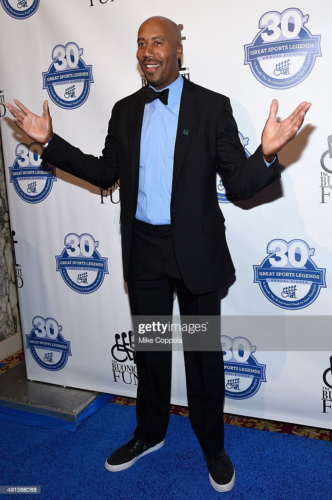 Former NBA player Bruce Bowenattends the 30th Annual Great Sports Legends Dinner to benefit The Buoniconti Fund to Cure Paralysis at The Waldorf Astoria on October 6, 2015 in New York City.