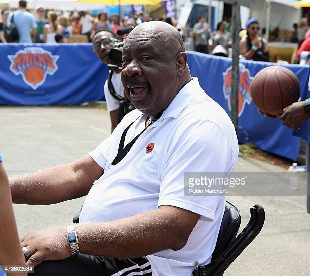 Former NBA Player Cal Ramsey attends A Sunday Afternoon In Harlem Presented By Aetna during the Harlem EatUp Festival on May 17 2015 in New York City