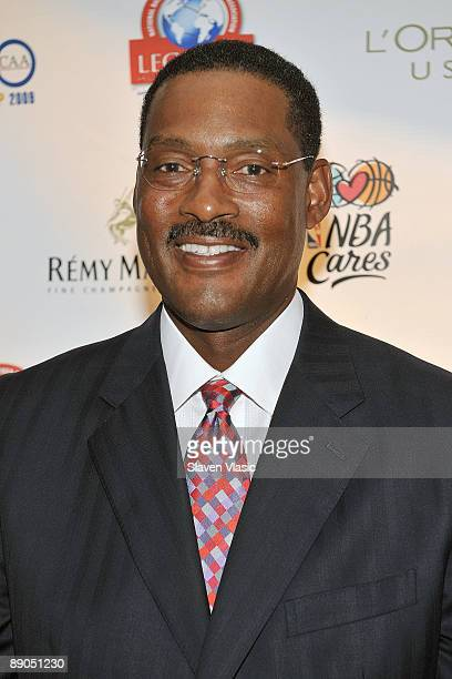 Former NBA player Cal Ramsey attends the Legends Legacy A Salute To 100 Years of Change at Gotham Hall on July 15 2009 in New York City