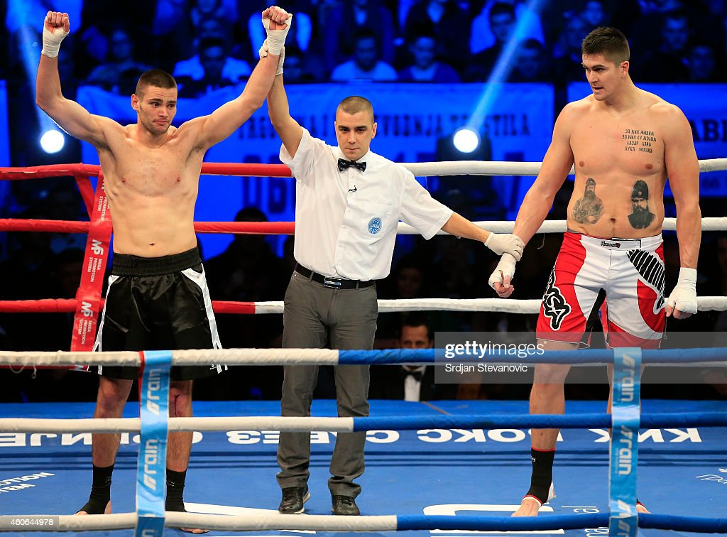 Darko Milicic - Kick Boxing : News Photo