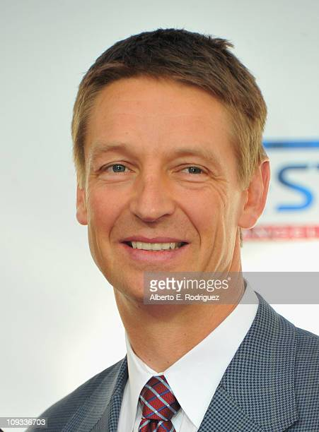 Former NBA player Detlef Schrempf arrives to the TMobile Magenta Carpet at the 2011 NBA AllStar Game on February 20 2011 in Los Angeles California