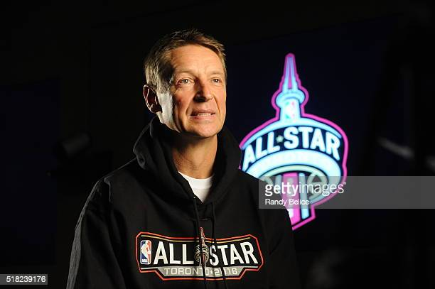 Former NBA player Detlef Schrempf attends the NBA Legends Brunch as part of NBA AllStar 2016 on February 14 2016 in Toronto Ontario Canada NOTE TO...