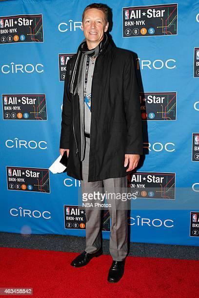 Former NBA player Detlef Schrempf poses for a photo on State Farm AllStar Saturday Night as part of the 2015 NBA AllStar Weekend on February 14 2015...