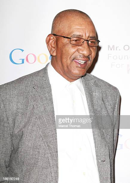 Former NBA player George 'The Iceman' Gervin attends the 8th All Star Celebrity Classic benefiting the Mr October Foundation for Kids at Cosmopolitan...