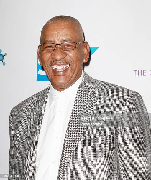 Former NBA player George The Iceman Gervin attends the 8th All Star Celebrity Classic benefiting the Mr October Foundation for Kids at Cosmopolitan...