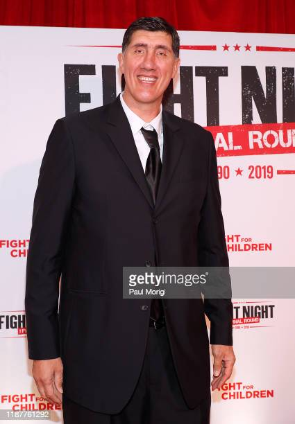 Former NBA player Gheorghe Muresan attends the 30th Annual Fight Night: The Final Round at the Washington Hilton on November 14, 2019 in Washington,...