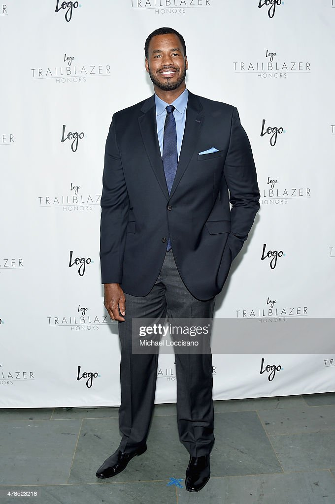 Former NBA player Jason Collins attends Logo's 'Trailblazer Honors' 2015 at the Cathedral of St. John the Divine on June 25, 2015 in New York City.