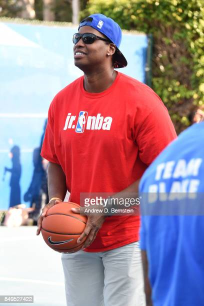 Former NBA player, Jason Collins attends the Michael B. Jordan Jam event at The Ritz-Carlton Marina del Rey on September 16, 2017 in Marina del Rey,...