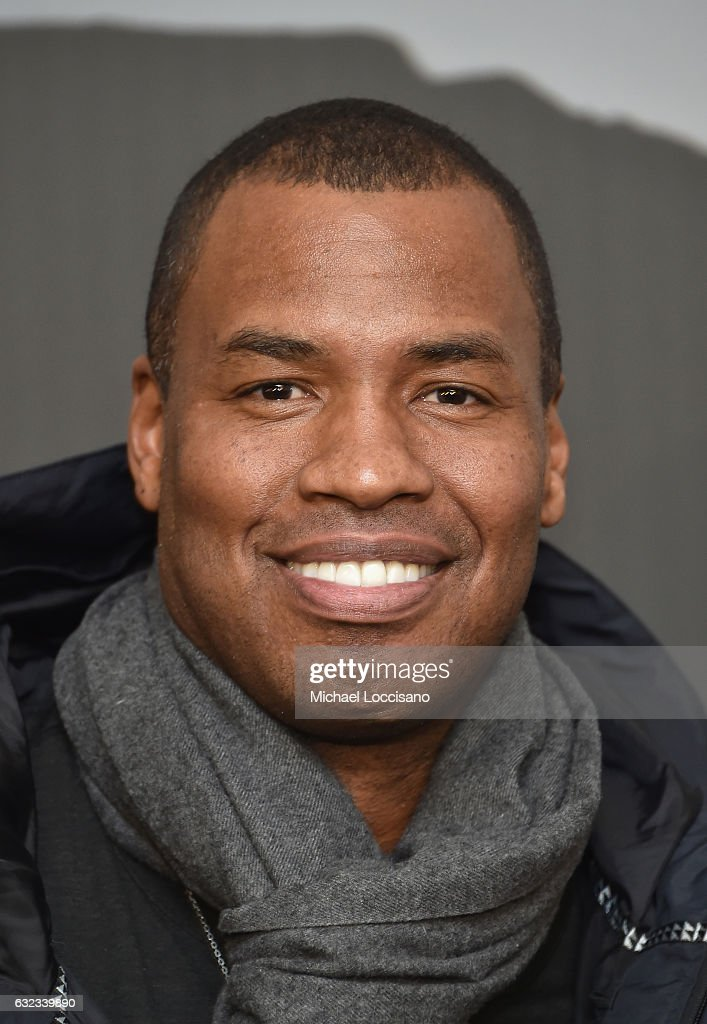 Former NBA player Jason Collins attends the 'Walking Out' premiere on day 3 of the 2017 Sundance Film Festival at Library Center Theater on January 21, 2017 in Park City, Utah.
