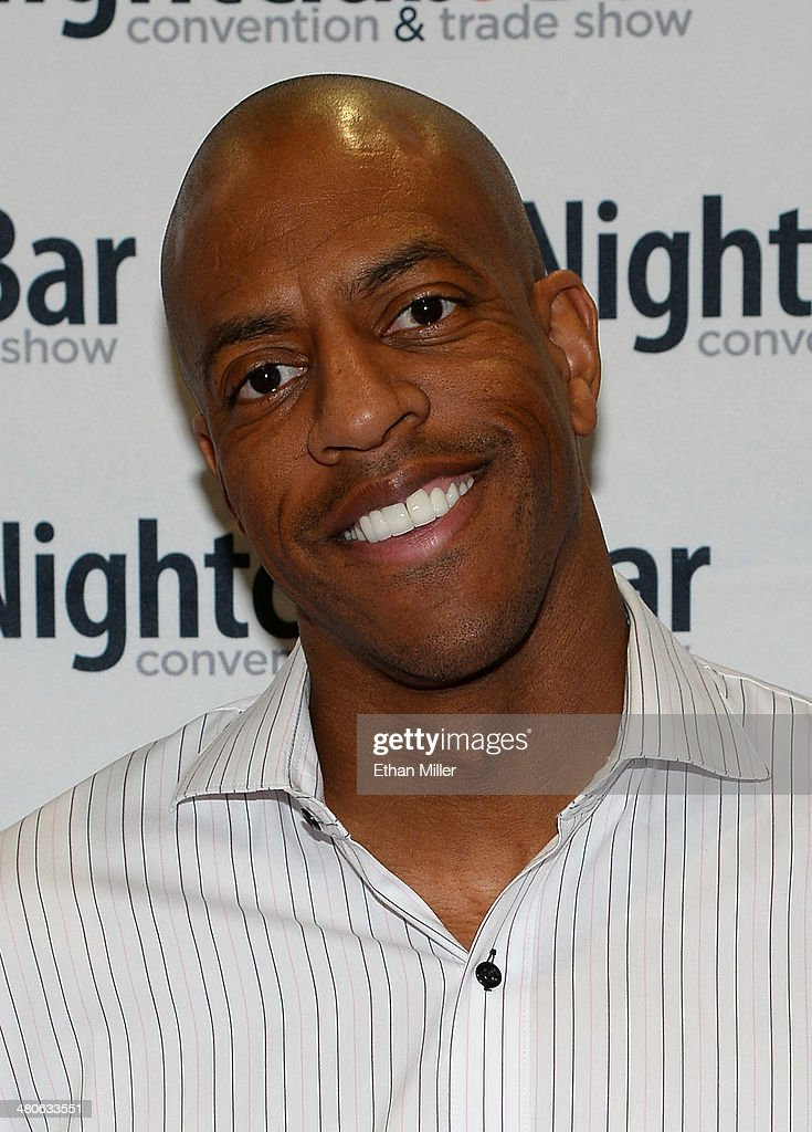Former NBA player Jerome Williams arrives at the 29th annual Nightclub & Bar Convention and Trade Show at the Las Vegas Convention Center on March 25, 2014 in Las Vegas, Nevada.