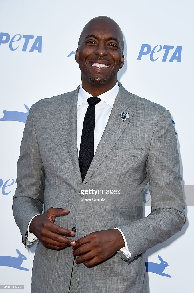 Former NBA player John Salley attends PETA's 35th Anniversary Party at Hollywood Palladium on September 30, 2015 in Los Angeles, California.