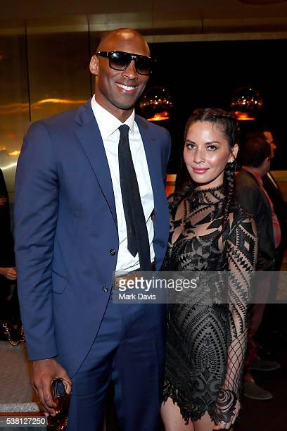 Former NBA player Kobe Bryant and actress Olivia Munn attend Spike TV's 10th Annual Guys Choice Awards at Sony Pictures Studios on June 4, 2016 in...