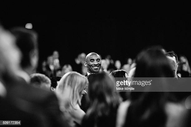 Former NBA player Kobe Bryant in the audience during American Film Institute's 44th Life Achievement Award Gala Tribute to John Williams at Dolby...