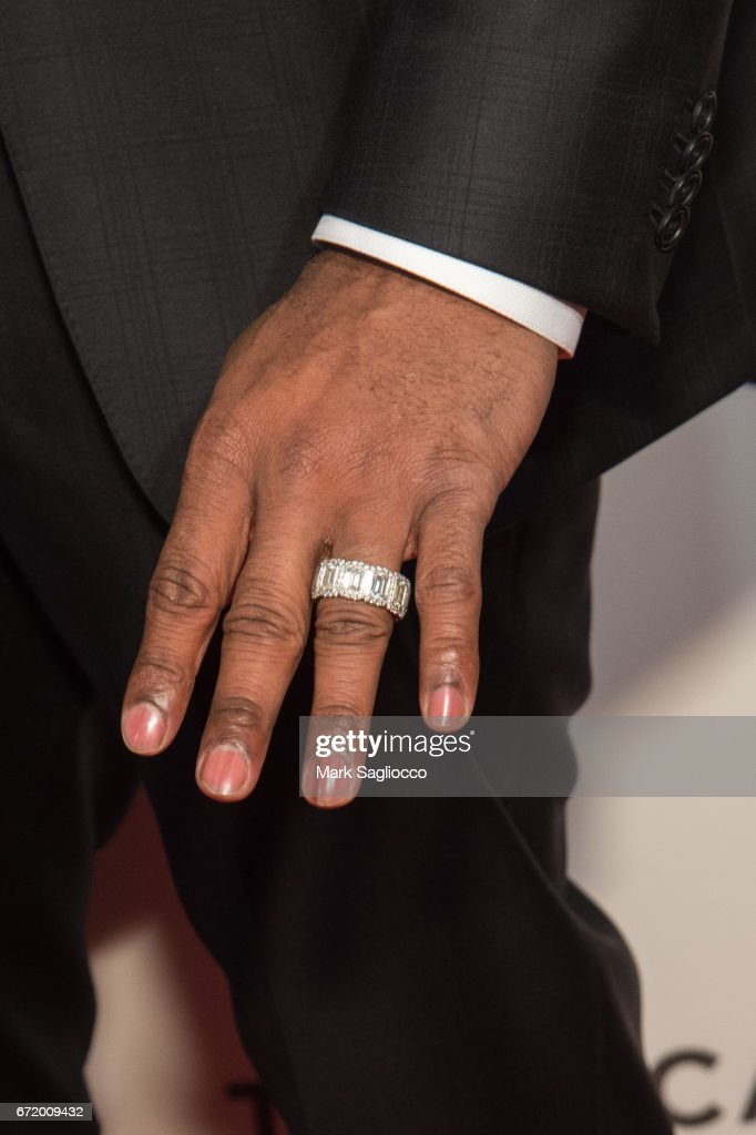 Delicieux Former NBA Player Kobe Bryant Jewelry Detail Attends The 2017 Tribeca Film  Festivalu0027s Tribeca Talks Storytellers