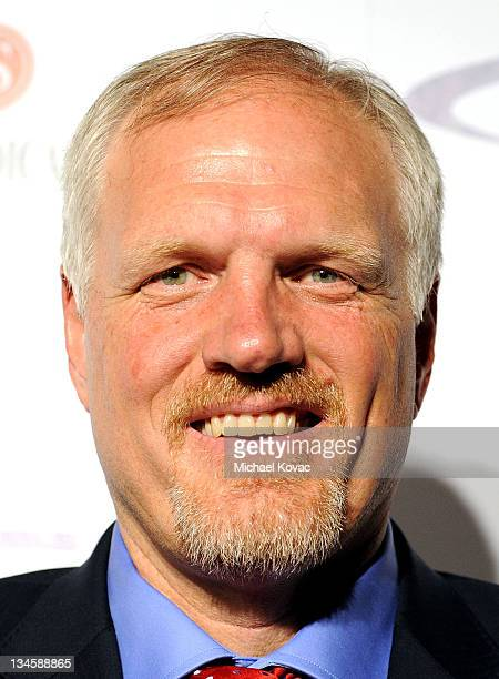 Former NBA player Mark Eaton arrives at the 26th Anniversary Sports Spectacular at the Hyatt Regency Century Plaza on May 22 2011 in Century City...