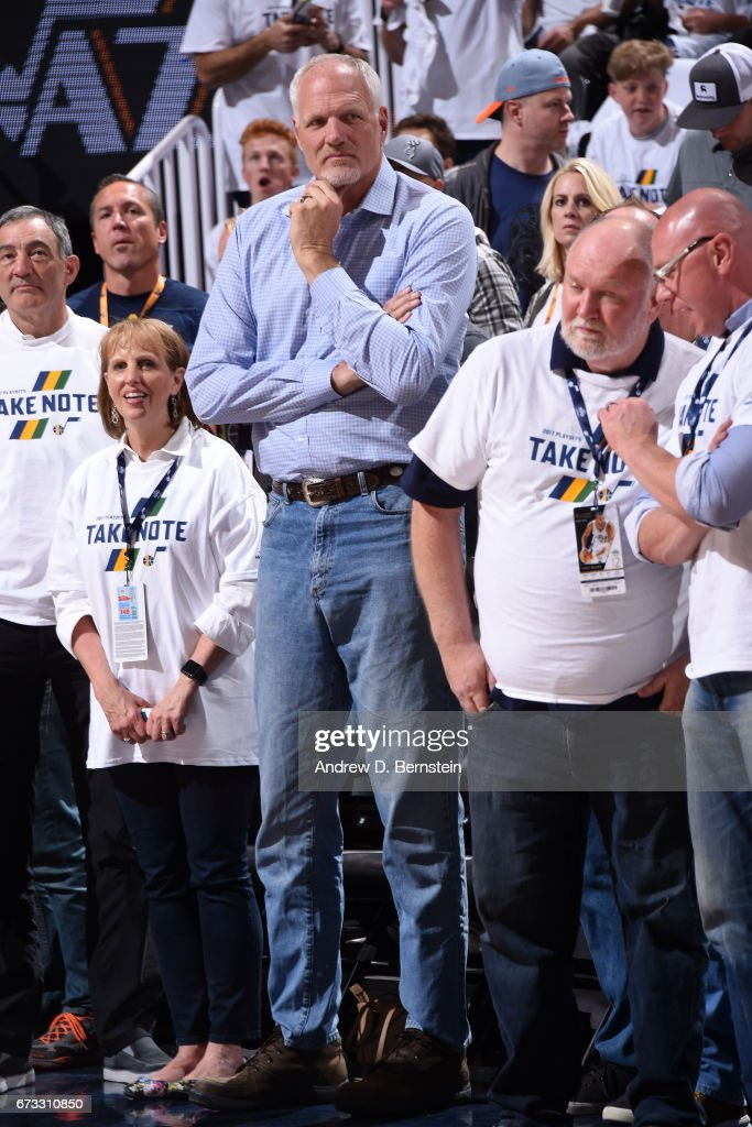 Los Angeles Clippers v Utah Jazz - Game Four : News Photo