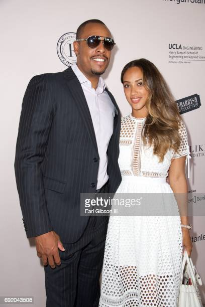 Former NBA player Paul Pierce and wife Julie Pierce attend the Ladylike Foundation's 9th Annual Women Of Excellence Awards Gala at The Beverly Hilton...