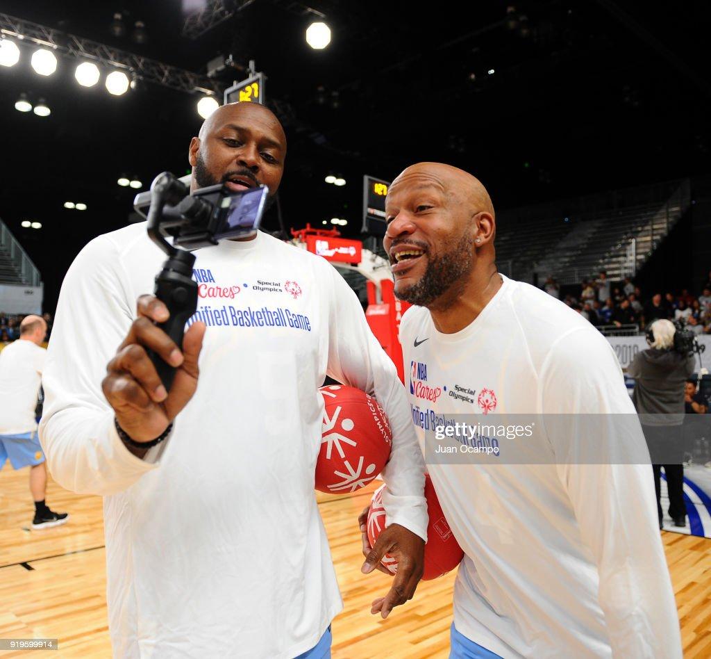 2018 NBA All-Star - Unified Basketball Game : News Photo