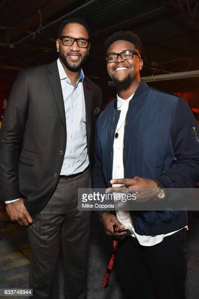 Former NBA player Tracy McGrady attends the 13th Annual ESPN The Party on February 3 2017 in Houston Texas