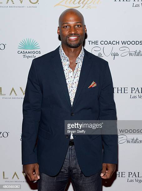 Former NBA player Travis Best arrives at the second annual Coach Woodson Las Vegas Invitational pairings party at the Lavo Restaurant Nightclub at...