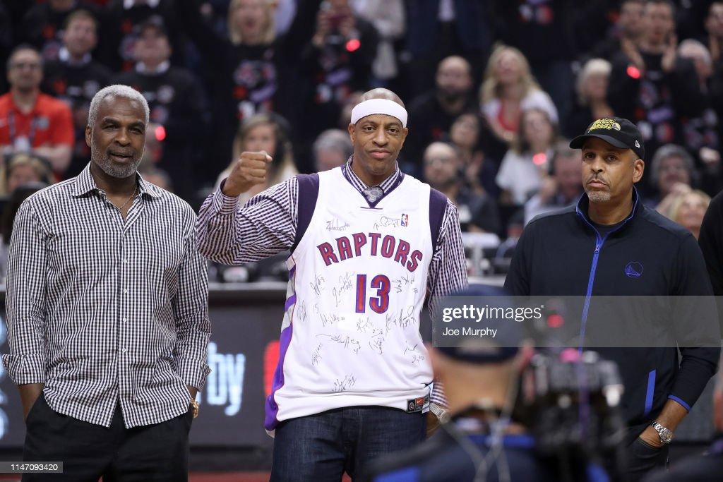 2019 NBA Finals - Golden State Warriors v Toronto Raptors : News Photo