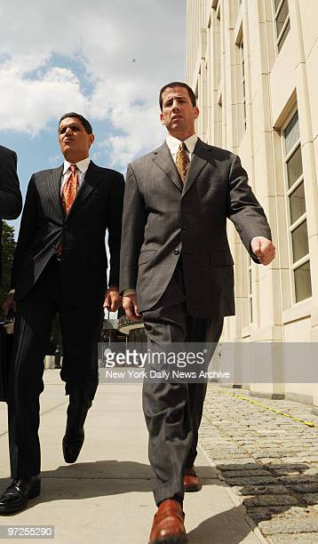 Former NBA referee Tim Donaghy leaves Brooklyn Federal Court after a hearing
