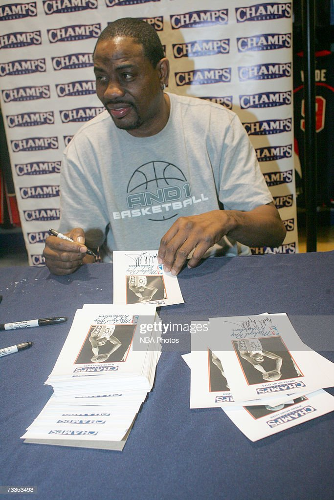 NBA Player Retail Store Appearance