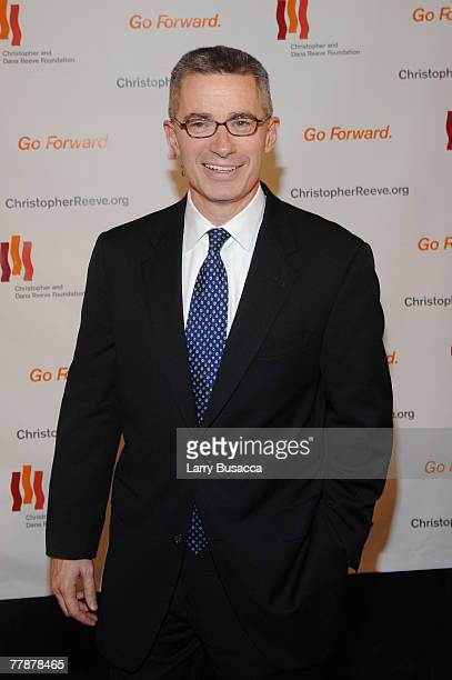 """Former New Jersey Gov. Jim McGreevey attends """"A Magical Evening"""" hosted by The Christopher and Dana Reeve Foundation at The Marriott Marquis on..."""