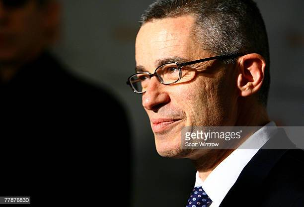 Former New Jersey Gov Jim McGreevey attends The Christopher Dana Reeve Foundation's A Magical Evening Gala at the Marriot Marquis Harlem Room on...