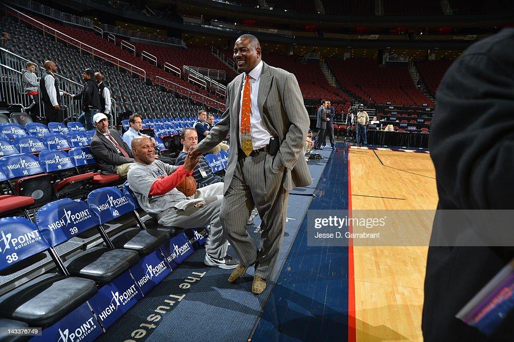 Philadelphia 76ers v New Jersey Nets