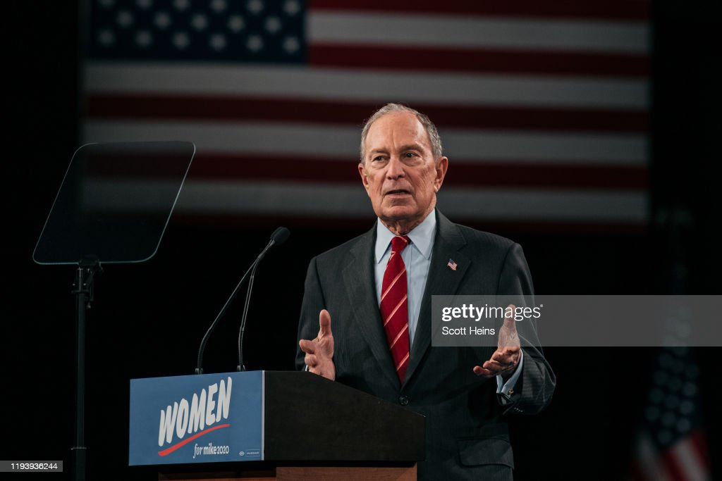 """Presidential Candidate Mike Bloomberg Launches """"Women For Mike"""" In New York City : News Photo"""