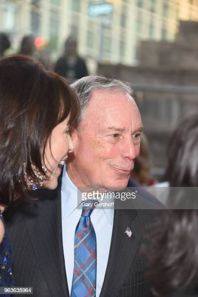 Former New York City Mayor Michael R Bloomberg attends the 2018 Lincoln Center American Songbook gala honoring HBO's Richard Plepler at Alice Tully...