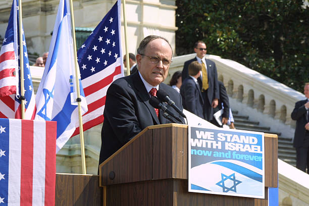 Image result for 2002 giuliani solidarity with israel rally new york