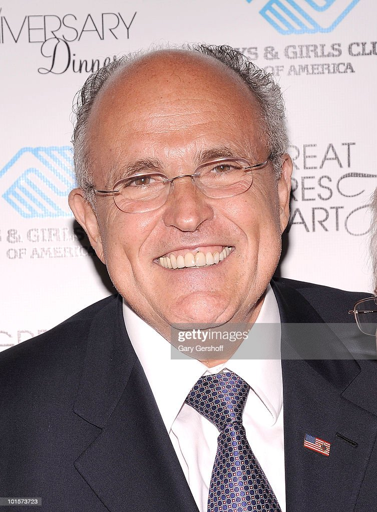 Former New York City Mayor Rudolph W. Giuliani attends the 2010 Boys and Girls Clubs of America's Chairman's Gala at The Waldorf Astoria on June 2, 2010 in New York City.