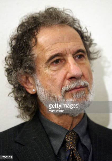 Former New York City police detective Frank Serpico participates in a whistleblowers forum on Capitol Hill February 2002 in Washington DC The forum...