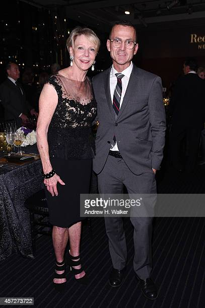 Former New York City Schools Chancellor Cathie Black and CFDA CEO Steven Kolb attend Bridges Of Understanding's annual Building Bridges award dinner...