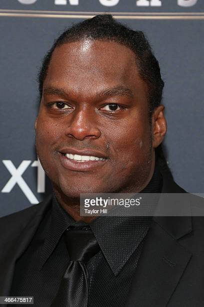 Former New York Giants linebacker Lavar Arrington attends the 3rd Annual NFL Honors at Radio City Music Hall on February 1 2014 in New York City