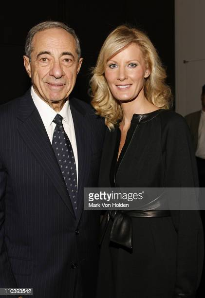 Former New York Governor Mario Cuomo and Chef and TV personality Sandra Lee at the launch party for book Made From Scratch A Memoir by Sandra Lee on...