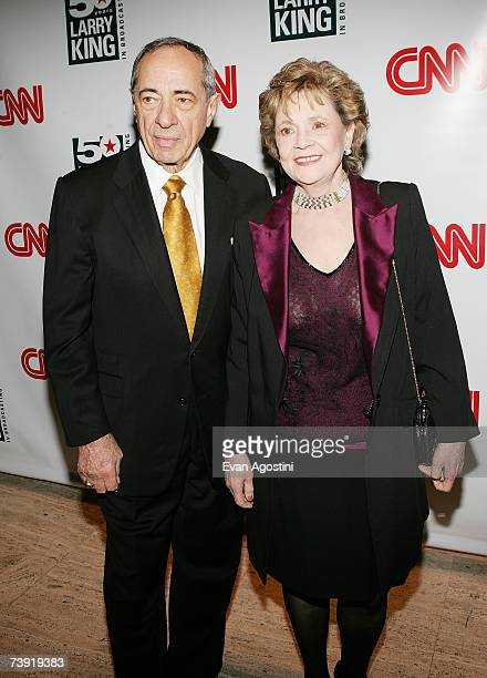 Former New York Governor Mario Cuomo and wife Matilda attend 'Larry King's 50 Years of Broadcasting' celebration at The Four Seasons Restaurant April...