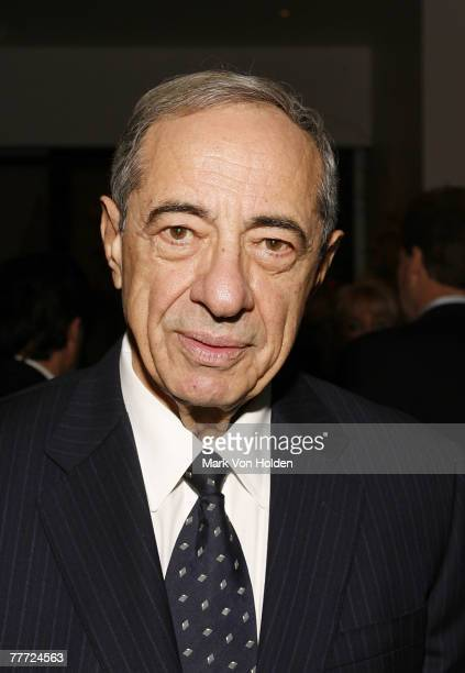 Former New York Governor Mario Cuomo at the launch party for Made From Scratch A Memoir by Sandra Lee held at Le Cirque New York November 05 2007