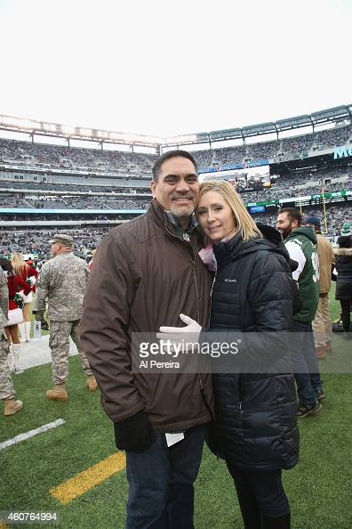 former new york jets player kevn mawae and his wife tracy