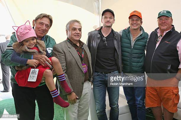 Former New York Jets quarterback Joe Namath New York City Wine Food Festival Founder Executive Director Lee Schrager actor Neil Patrick Harris David...