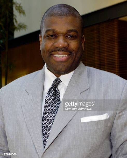 Former New York Knicks Basketball Player Bernard King at the Embassy Suites Hotel